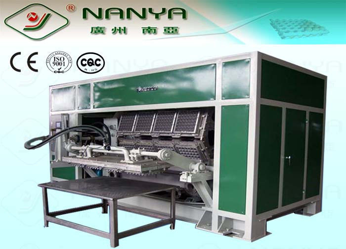 Auto Recycled Paper Egg Tray Machine 6 Layers Drying Line 3000 To 6000 Pcs/ H