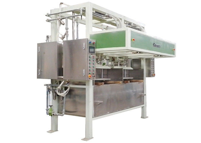 Full Automated Reciprocating Egg Carton Making Machine With 6 Layer Drying Line