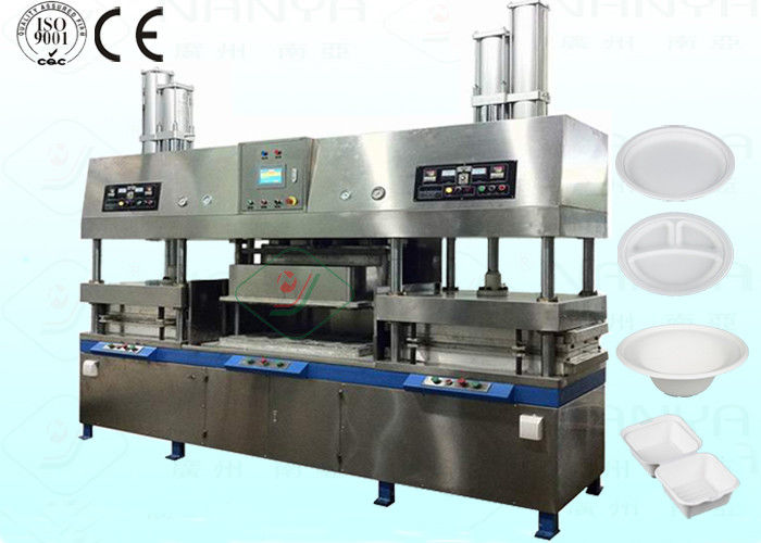 Eco Paper Plate Pulp Molding Equipment for Takeaway Food Boxes CE