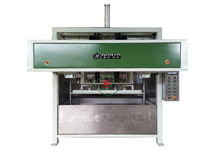 Automated Waste Paper Egg Tray / Egg Box Vacuum Forming Machine With Single Layer Dryer