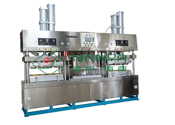 Disposable Bagasse Paper Plate Making Machine With PLC 1100*800mm