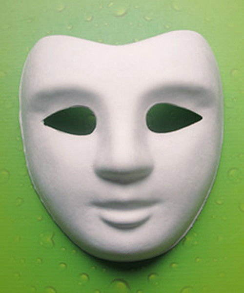 Pulp Molded Masks with  Special Eye /  Suitable in Party / Unleached