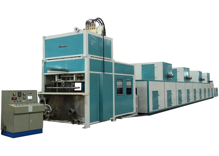 Auto Reciprocating /Turnover Pulp Molding Machine for Industrail Package / Flower Pot